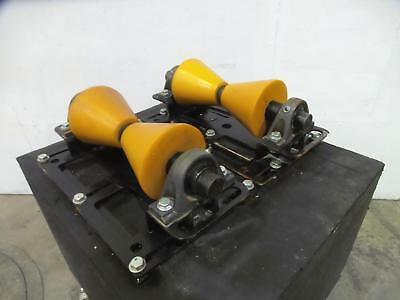 2 LJ Welding 1-Ton Pipe Alignment Rigging Rollers HZ6-200