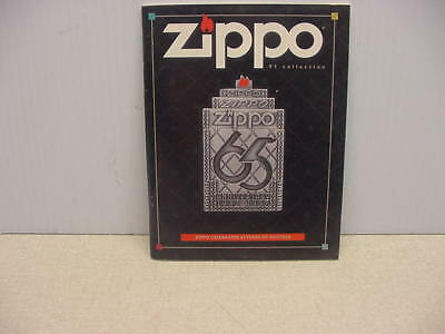 Rare Find 1997 Zippo Collection 65Th Anniversary Mini Catalog