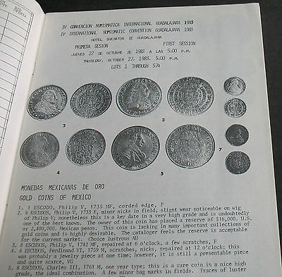 Gold Coins Mexico, Colonial Pillar Coinage, Insurgent Coinage, Tokens & Buttons