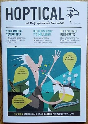 Beer Hawk Hoptical magazine Spring 2017 beer, ale, craft, homebrew, Belgian, IPA