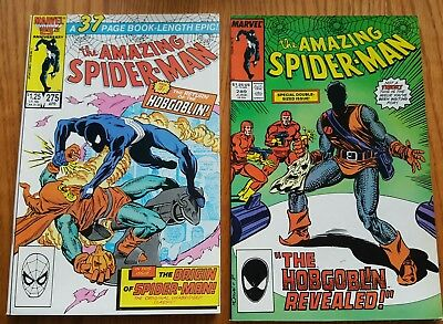 (LOT OF 2) the AMAZING SPIDER-MAN 275 & 289 ~ KEY ISSUES ~ VF/NM copies