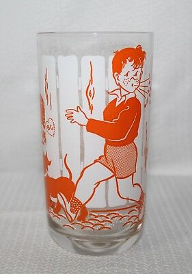 "1950's Big Top Peanut Butter Old Time Songs ""Billy Boy"" Glass"
