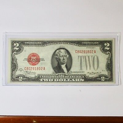 1928 $2 in excellent * ALMOST UNCIRCULATED*  condition