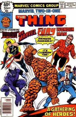 Marvel Two-In-One (1974 series) #51 in Very Good + condition. FREE bag/board