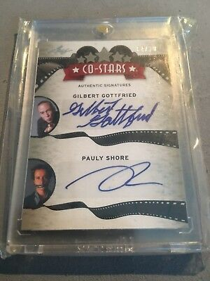 Leaf Co-Stars 04/10 Gilbert Gottfried and Pauly Shore Autograph