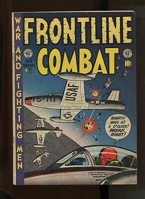 Frontline Combat #8 (6.5) Airforce Cover