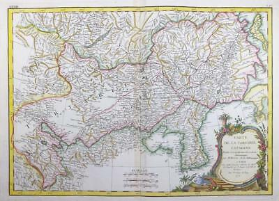 1771 Antique Map TARTARY CHINOISE CHINA MONGOLIA MANCHURIA KOREA COREA