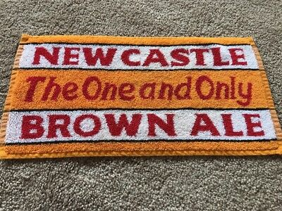 Newcastle Brown Ale Bar Towel - Home Bar Drink Collectible FREE SHIPPING !!!!