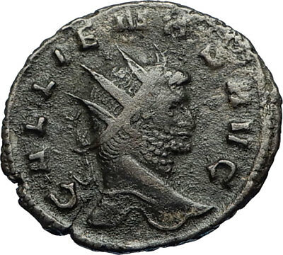 GALLIENUS Authentic Ancient Genuine Original 260AD Roman Coin Securitas i67573