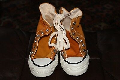 VTG NOS 70's Converse Chuck Taylor All Star Shoes Original GOLD Mustard