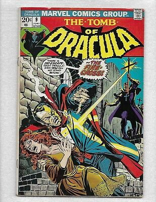 The Tomb Of Dracula~# 9-1973*very-Good Condition*take A Look-Decent Copy!!