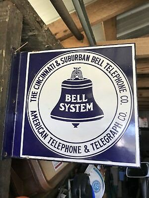 The Cincinnati and Suburban Telephone Co Sign