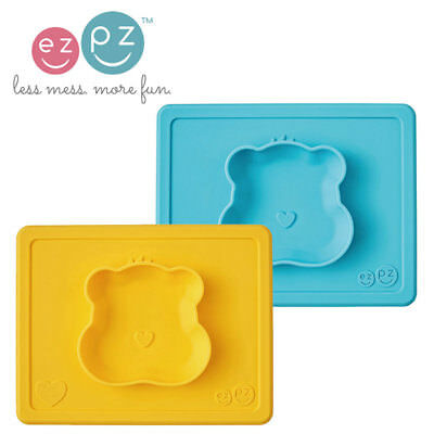 EZPZ Mini Mat Care Bears Placemat & Bowl in One - Choose Colour -  Travel Baby