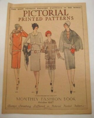 Old 1927 Fashion Book Printed Patterns Advertising WEHR Store Allentown PA  TMP