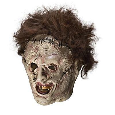 Texas Chainsaw Massacre Leatherface Adult Mask Officially Licensed Costume CHOP