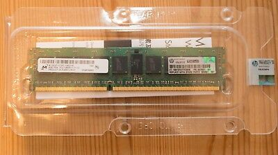 HP 647651-081 8GB ECC DDR3 1RX4 PC3-12800R 1600MHz Server Memory DIMM - OVP