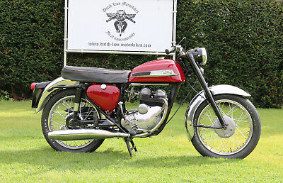 Norton Jubilee 250cc Twin 1965 with UK and Belgian registration papers