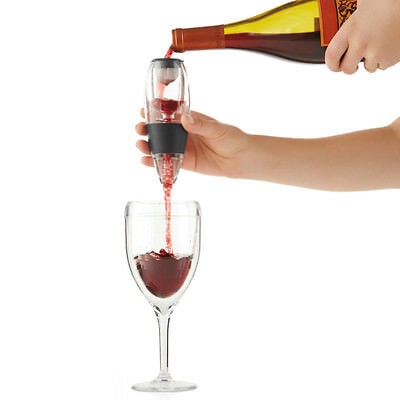 Mini Red Wine Whiskey Magic Aerator Decanter Quick Aerating Pourer Glass Bottle