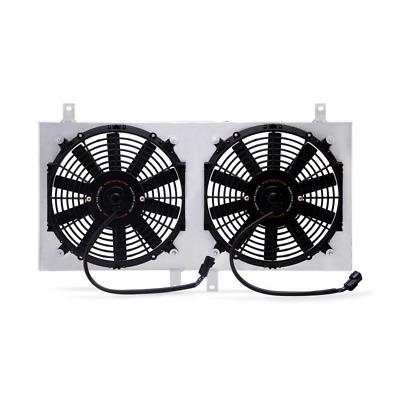 Mishimoto Alloy Radiator Fan Shroud Kit - fit Mitsubishi Eclipse Turbo - 1995-99