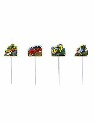 Pack 4 Velas Blaze And The Monster Machines (14354)