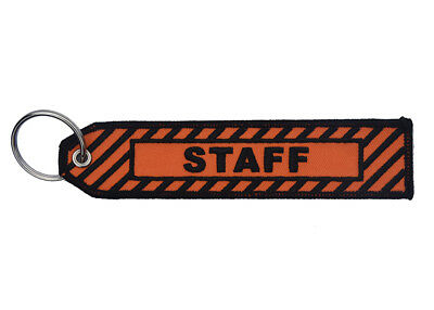 STAFF  Key Ring Luggage Tag