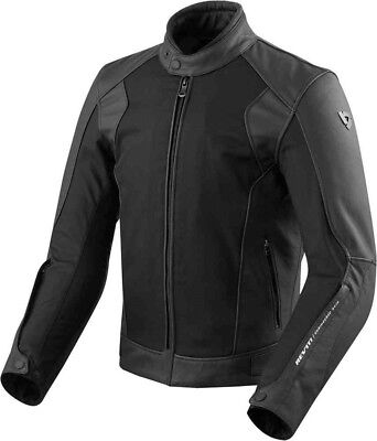 Rev'it Revít Motorrad Leder - Textieljacke  Ignition 3 schwarz Herren