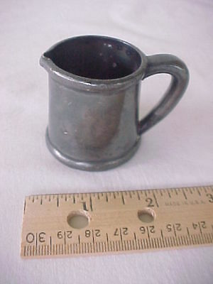 Small Vintage Silver Plate Childs Cream Pitcher BSCEP