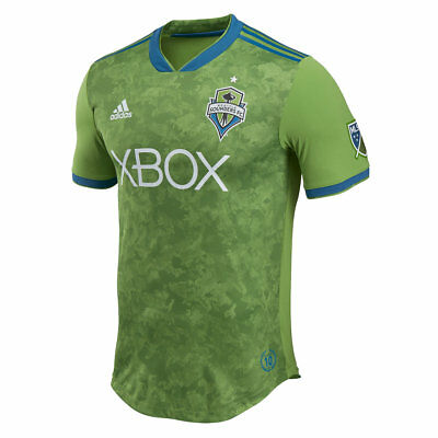 Official Seattle Sounders Authentic Football Home Shirt 2018 Mens