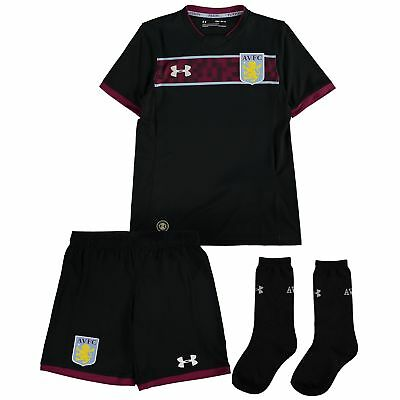 Official Aston Villa Away Toddler Kit 2017/18 Infant & Baby Football