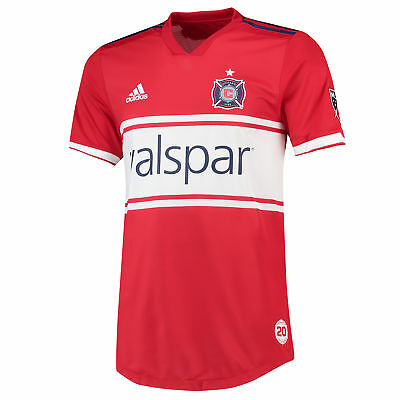Official Chicago Fire Authentic Football Home Shirt 2018 Mens