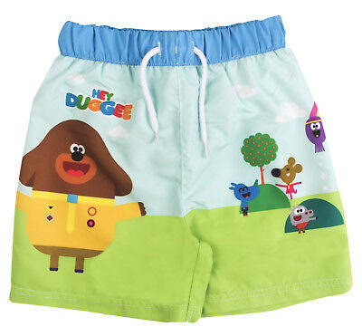 Hey Duggee Swim Shorts Toddlers Swimming Trunks Summer Board Shorts Kids Size