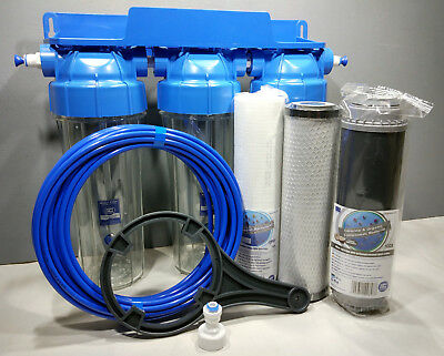 3 Stage HMA Water Purifier Koi Ponds & Dechlorinator Filter System