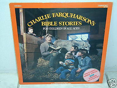 "*CHARLIE FARQUHARSON'S BIBLE STORIES-For children-12""*"