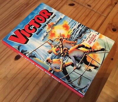 Victor Annual 1988 unclipped and in very good condition.