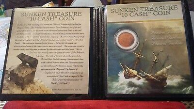 1808 Admiral Gardner Shipwrecked Coin - X Cash -- East India Company