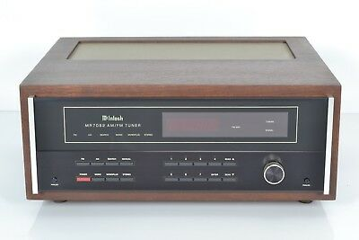 McIntosh MR 7082 AM FM Radio Stereo Tuner - Vintage Classic - Made in USA