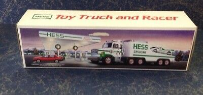 Hess  1988 Toy Truck and Racer  MIB