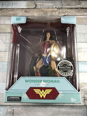 DC Comics World's Finest Collection Exclusive Wonder Woman Vinyl Figure 2017