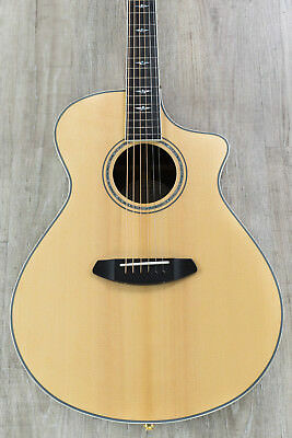 Breedlove Stage Exotic Concert CE Acoustic-Electric Guitar Sitka Spruce-Ziricote