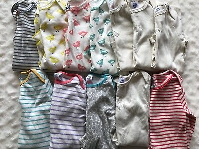 Huge LOT 12 Mini Boden Baby Boden Girl Toddler One Piece Shirts 2 3 2T 3T New