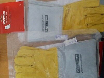 Weldability tig welding gloves x 2 pairs