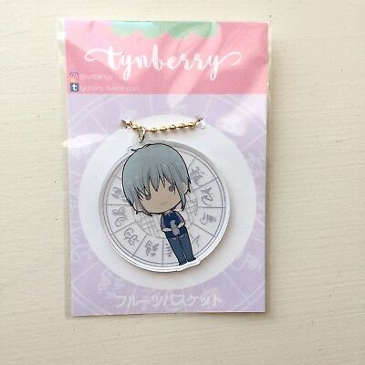 Fruits basket Acrylic Charm- Yuki