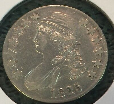 1825 Capped Bust half