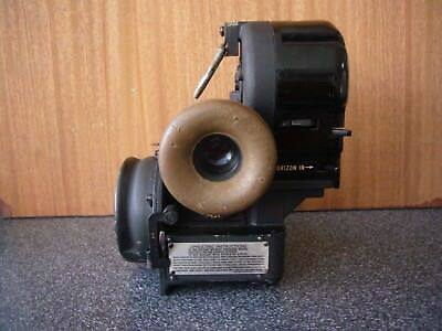 US WW2 Bomber  Airplane Sextant Bubble Type Bendix-AN-5851-1 Military