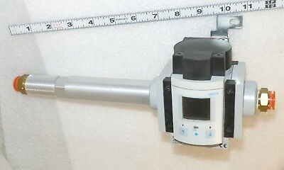 Flow Meter orange Plugs, bracket  Festo M56-SFE-F5-AGD-N2U-M12