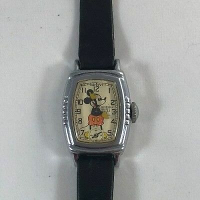 Vintage 1930's Ingersoll Mickey Mouse Watch