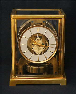 Jaeger LeCoultre Baby Atmos Clock, 526-5, Cleaned, Serviced, Timed, Runs Great
