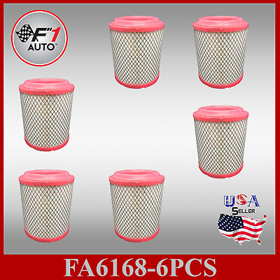 FA6168 (6PCS) PREMIUM ENGINE AIR FILTER for 2011-2017 JEEP COMPASS & PATRIOT