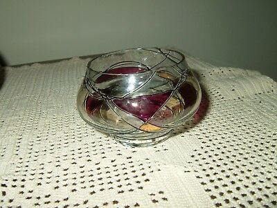 Partylite Mosaic Tiffany Tealight Candle Holder