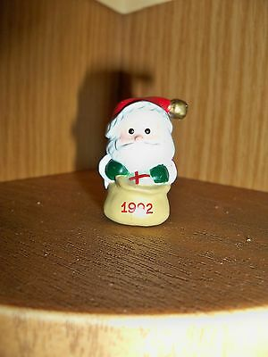 HALLMARK MERRY Miniatures 1992 JINGLE BELL SANTA